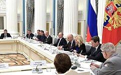 Ю.Воробьев принял участие взаседании оргкомитета «Победа» вКремле