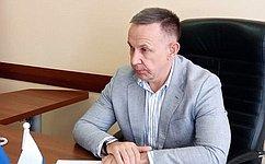 О. Алексеев провел прием граждан