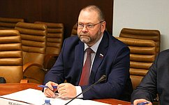 Сенаторы принимают участие вработе 40-й сессии Конгресса местных ирегиональных властей Совета Европы— О.Мельниченко