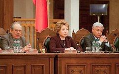 В. Матвиенко приняла участие вторжествах послучаю 25-летия парламентаризма всовременной истории Республики Татарстан