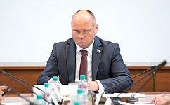 А.Кондратенко провел вСовете Федерации совещание повопросам законодательного обеспечения охраны окружающей среды наводных объектах