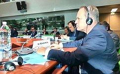 А.Башкин выступил вПАСЕ входе обсуждения вопроса обусилении защиты лиц, сигнализирующих онарушениях закона