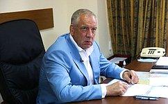 С. Митин принял участие взаседании Комиссии Правительства РФ повопросам развития рыбохозяйственного комплекса