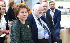 Г.Карелова прокомментировала итоги работы дискуссионной площадки «Проектное управление именеджмент всоциальной сфере»