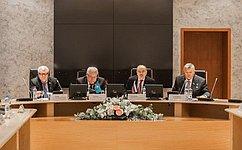ВСанкт-Петербурге прошло Второе заседание Комиссии посотрудничеству между Советом Федерации иСенатом Парламента Казахстана