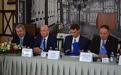 О. Цепкин: Развитие промышленности должно рассматриваться втесной увязке сохраной природы издоровья граждан