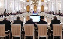 В.Матвиенко приняла участие взаседании Государственного совета повопросам повышения инвестпривлекательности регионов