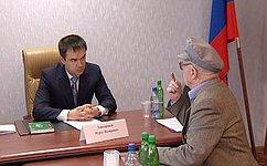М. Хапсироков провел вМайкопе прием граждан