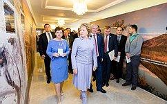 ВСовете Федерации открылась выставка «Русский Север: Богатства Таймыра»