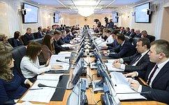 ВКомитете СФ поэкономической политике обсудили проблемы финансирования иисполнения программ газификации регионов