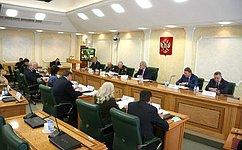 Одобренные Советом Федерации правовые акты позволили успешно интегрировать Крым вединую правовую систему России— В.Бондарев