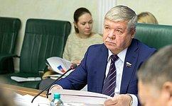 Комитет СФ поэкономической политике рассмотрел актуальные вопросы инвестиционного развития Тамбовской области
