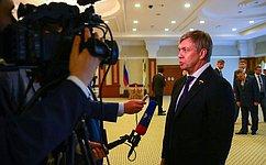 Деловые круги России иБрунея должны вместе серьезно поработать— А.Русских