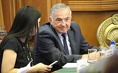Ю. Бирюков принял участие вработе очередной сессии Народного Хурала Республики Калмыкия