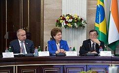 Г.Карелова: «Женское» сотрудничество повышает эффективность взаимодействия стран ШОС иБРИКС
