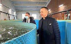 О. Алексеев: Предприятия АПК Саратовской области продолжают расширяться, увеличивая объемы производства