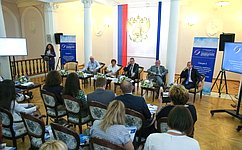 НаЛивадийском форуме обсудили модели взаимодействия российских изарубежных НКО культурно-гуманитарной направленности