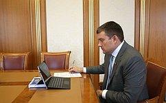 Н. Журавлев принял участие взаседании Межведомственной комиссии попротиводействию легализации преступных доходов
