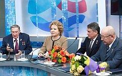 ВСовете Федерации состоялось чествование сенаторов– Героев Отечества