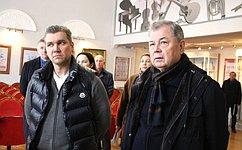 А. Артамонов совершил рабочую поездку вСтавропольский край