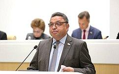 Подтверждены полномочия В.Тимченко вкачестве председателя Комитета СФ поРегламенту иорганизации парламентской деятельности