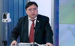 А. Акимов обсудил совершенствование законодательства окоренных малочисленных народах сС.Донским иВ.Бариновым