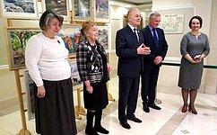 ВСФ представлена выставка, посвященная Всемирному наследию ЮНЕСКО имеждународной программе «Человек ибиосфера»
