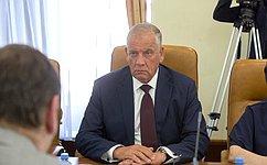 С. Митин провел совещание, посвященное принятию нормативно-правовых актов всфере рыболовства иаквакультуры