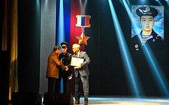 Баир Жамсуев принял участие мероприятиях посвященных годовщине Подвига Героя России Алдара Цыденжапова