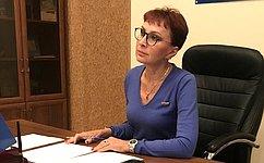 Т. Кусайко обсудила сглавной Федерального фонда ОМС финансирование оказания медицинской помощи