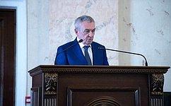 В. Бекетов принял участие вобщем собрании Совета молодых депутатов Краснодарского края