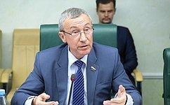 А.Климов: Мы будем работать над определением критериев понятия «вмешательство вовнутренние дела суверенного государства»