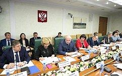 ВСовете Федерации обсудили законопроект обуполномоченных поправам человека всубъектах РФ