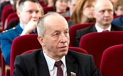 Региональные власти работают над улучшением качества жизни северян— Е.Алексеев