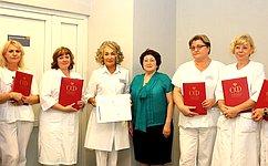 Л. Талабаева: ВПриморском крае успешно реализуются программы поохране материнства идетства
