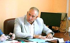 С.Митин провел выездное заседание рабочей группы попротиводействию незаконному обороту упакованной питьевой воды