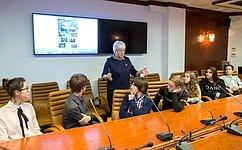 О.Тимофеева рассказала московским школьникам обистории города Севастополя