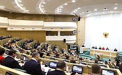 Сенаторы обсудили вопросы соцподдержки воинов-интернационалистов иликвидации последствий стихии наДальнем Востоке