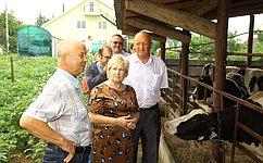 Л.Антонова: Важно обеспечить поддержку отечественным сельхозпроизводителям