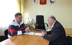 К.Косачев провел встречи вСернурском иМари-Турекском муниципальных районах Марий Эл