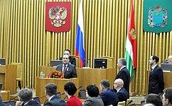 А. Александрову вручили медаль «Заособые заслуги перед Калужской областью»