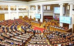 В.Матвиенко провела 48-е пленарное заседание МПА СНГ