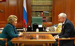 Необходимо найти новые стратегические направления для дальнейшего развития Магаданской области— В.Матвиенко