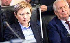 Л. Бокова: Вопросы модернизации российского регионального телевещания находятся напостоянном контроле вСовете Федерации