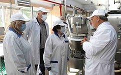 Л. Талабаева посетила предприятия иучреждения города Находка