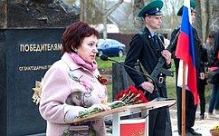 Е.Бибикова: Неизвестный солдат– символ тех, кто пожертвовал жизнью ради Победы