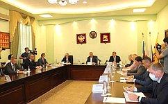 А. Артамонов обсудил вопросы финансирования модернизации социальных объектов Ростовской области