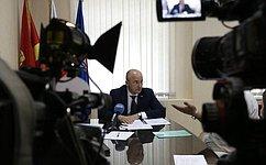 О. Цепкин провёл приём граждан вЧелябинске