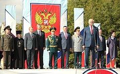 Н. Тихомиров поздравил молодых курсантов Череповецкого высшего военного училища сначалом службы