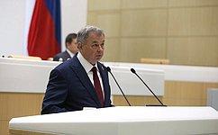 Совет Федерации одобрил Федеральный закон «Обисполнении федерального бюджета за2019год»